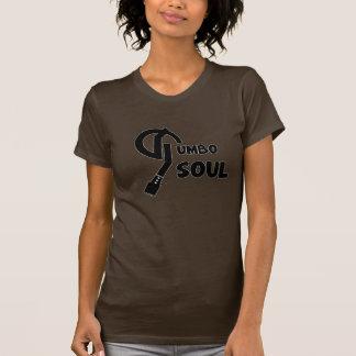 Camiseta Mulher orgânica do T da alma do Gumbo