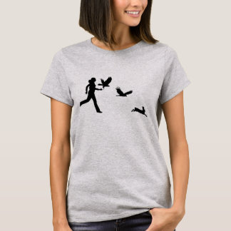 Camiseta Mulher que voa falcões de Harris