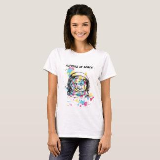 Camiseta Mulheres alpargata com desenhos stylischem de gato