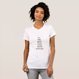 Camiseta Mulheres da cor que tomam o campo legal pela