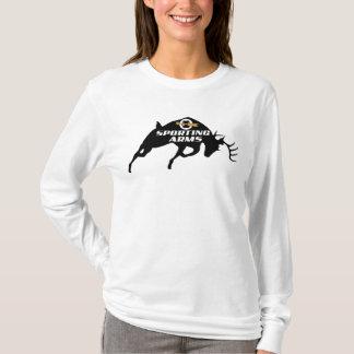 Camiseta Mulheres de Hoody do fanfarrão de LHR