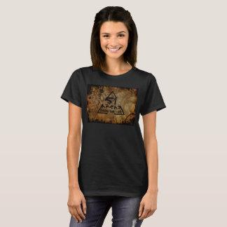 Camiseta Mulheres de rádio das estranhezas das áreas de