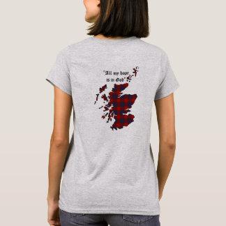 Camiseta Mulheres do clã de Fraser