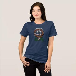 Camiseta Mulheres do crachá do clã de Kennedy