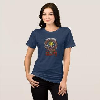 Camiseta Mulheres do crachá do clã de Kerr escuras