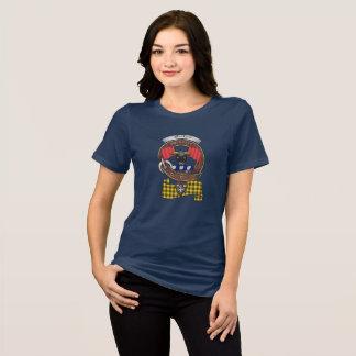 Camiseta Mulheres do crachá do clã de MacLeod