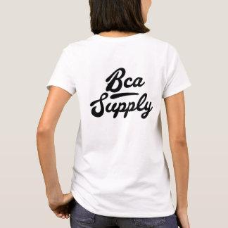 Camiseta Mulheres do t-shirt da Bca-Fonte