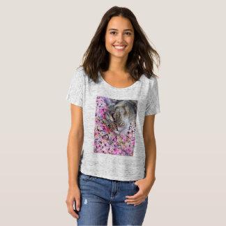 Camiseta Mulheres do t-shirt do Daydreamer do gato
