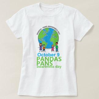 Camiseta Mulheres do t-shirt do dia da consciência de