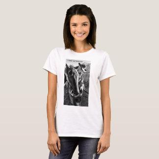 Camiseta Mulheres do t-shirt do vaqueiro