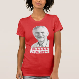 Camiseta Mulheres do tshirt do canto de Jeremy Corbyn