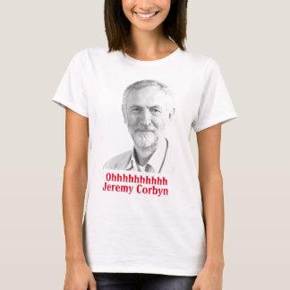 Camiseta Mulheres do tshirt do canto de Jeremy Corbyn