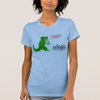 Camiseta Mulheres do zonk de Godzilla