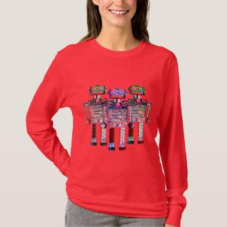 Camiseta Mulheres dos ROBÔS do ARCO-ÍRIS de FNG