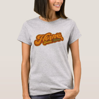Camiseta Mulheres elétricas da banda de Horne