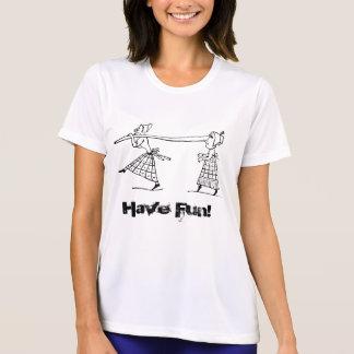 Camiseta Mulheres engraçadas legal na moda