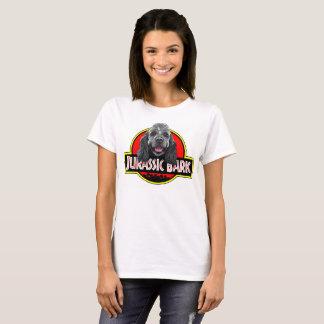 Camiseta Mulheres jurássicos do t-shirt do latido de cocker