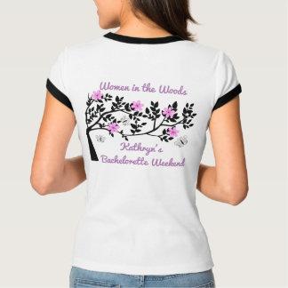 Camiseta Mulheres na festa de solteira das madeiras
