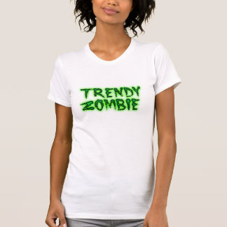 Camiseta Mulheres na moda do zombi superiores