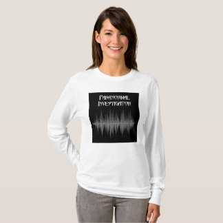 Camiseta Mulheres Paranormal de Soundwave do investigador