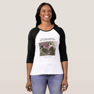Camiseta Mulheres que apoiam as mulheres. .incredible