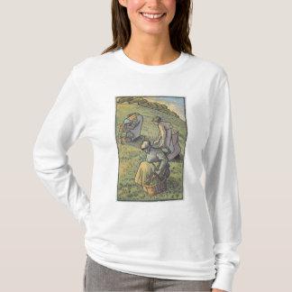 Camiseta Mulheres que recolhem cogumelos, 'do campeão do