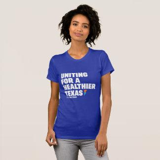 Camiseta Mulheres que unem-se para um T mais saudável de