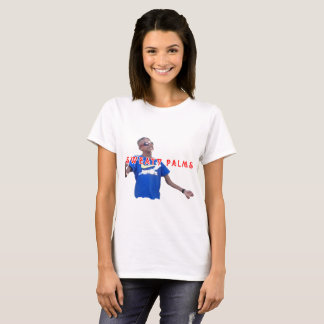 Camiseta Mulheres suado do T das palmas