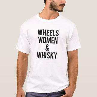 Camiseta Mulheres & uísque das rodas
