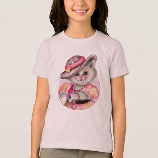 Camiseta Multa americana 2 do roupa das meninas da SENHORA