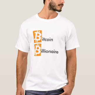 Camiseta Multimilionário de Bitcoin