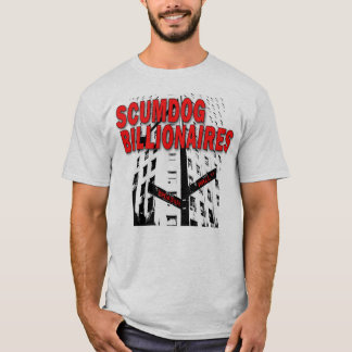 Camiseta Multimilionário de Scumdog em Wall Street