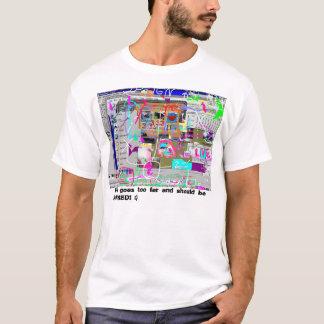 Camiseta Múltiplo-Copyright-violação