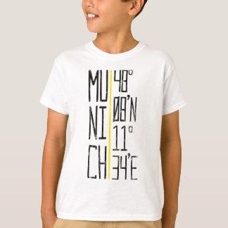 Camiseta München Munich coordena o T, Alemanha