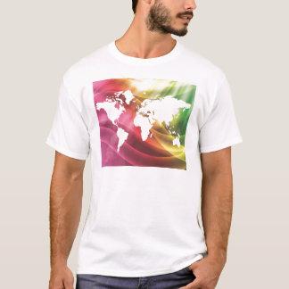 Camiseta Mundo colorido