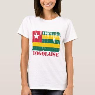 Camiseta Mundo da bandeira de Togo