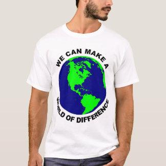 Camiseta Mundo da diferença
