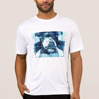 Camiseta Mundo de Digitas e indústria do estilo de vida da