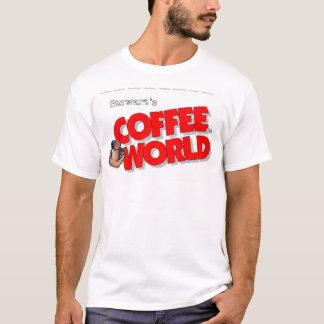 Camiseta Mundo do café de Stewarts