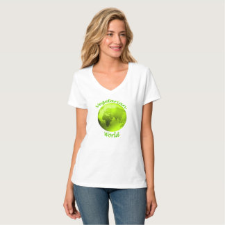 Camiseta Mundo do vegetariano