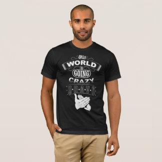 Camiseta Mundo louco!