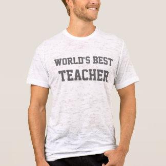 Camiseta Mundo melhor, PROFESSOR