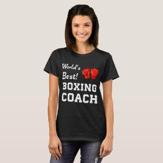 Camiseta Mundo melhor! T-shirt de encaixotamento da