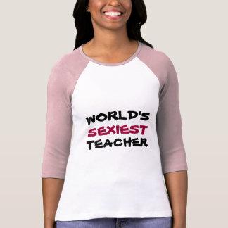 """Camiseta MUNDO, O MAIS """"SEXY"""", t-shirt do PROFESSOR"""