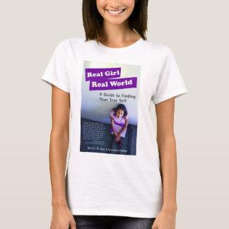 Camiseta Mundo real da menina real