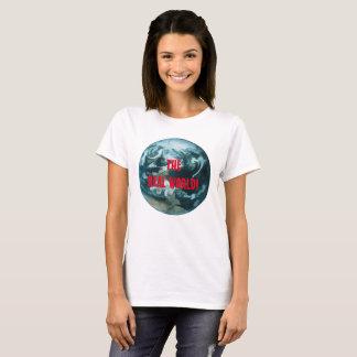 Camiseta Mundo real nenhuns telemóveis