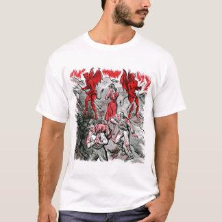 Camiseta Mundo subjugado pela cópia da satã