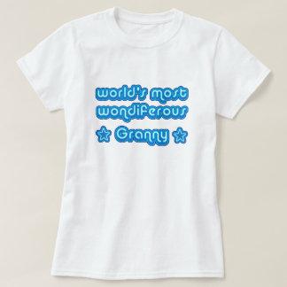 Camiseta Mundos a maioria de avó de Wondiferous