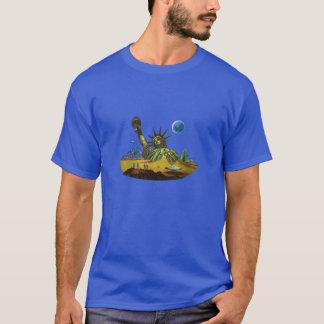Camiseta Mundos do SciFi - terra nas ruínas