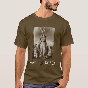 Camiseta Musashi projeta o assento Bull